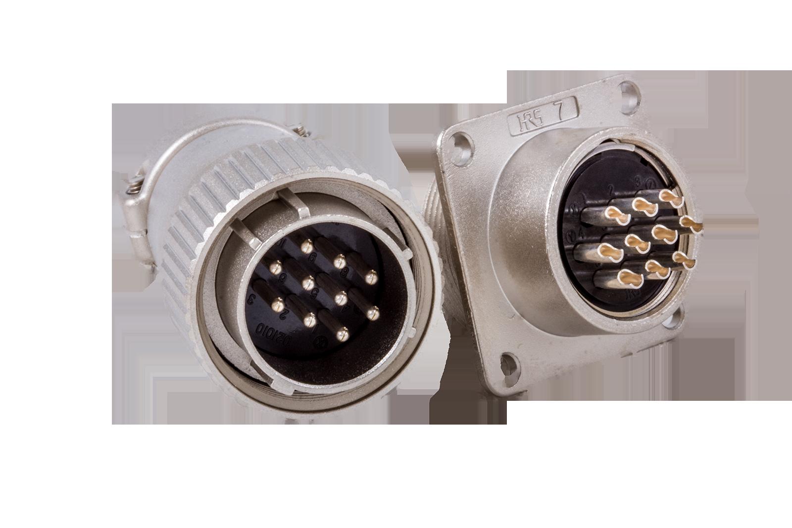 Optic fiber connectors